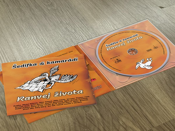 Booklet a potisk CD